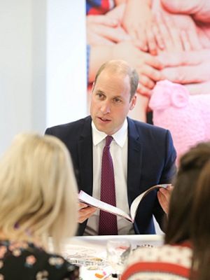 Prince William hears from Change Your Mind champions at visit to Lombard House